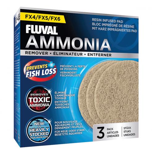 Eliminadora de amoniaco Fluval Fx