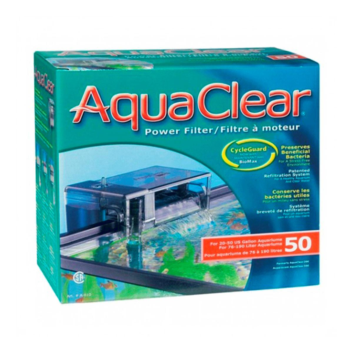 filtro aquaclear 50